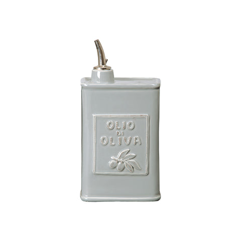 Lastra Olive Oil Can - Gray