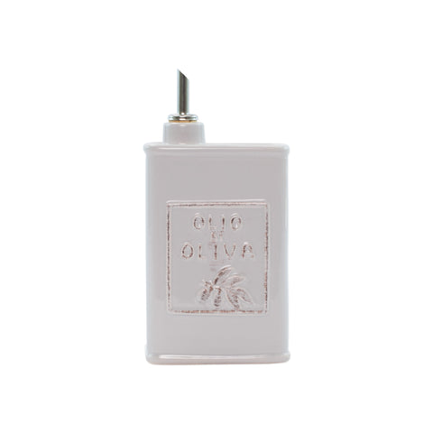 Lastra Olive Oil Can - Light Gray