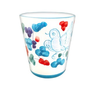 Limoncello Cups - Light Blue Arabesco - Set of 4