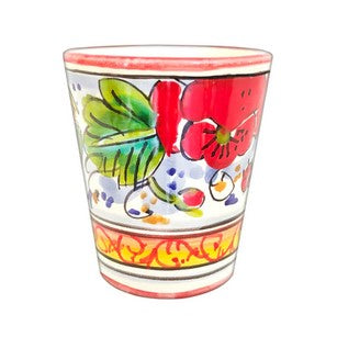 Limoncello Cups - Poppy - Set of 4