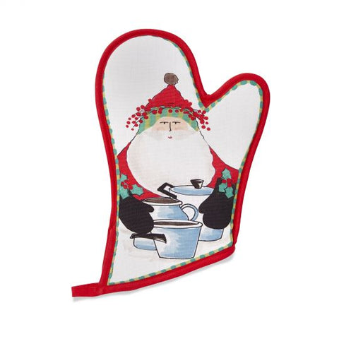 Old St. Nick Oven Mitt