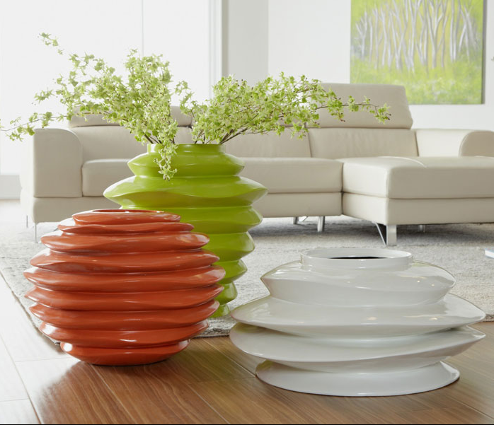 Spiral Bowl - 3 Colors and Sizes Available , vase - Phillips Collection, Pezzo Bello  - 1