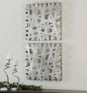 Alita Metal Wall Decor, S/2