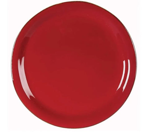 Rosso Vecchio Dinner Plates  Set of 2