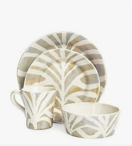 Safari Dinnerware Service for 4  - 16 Pieces