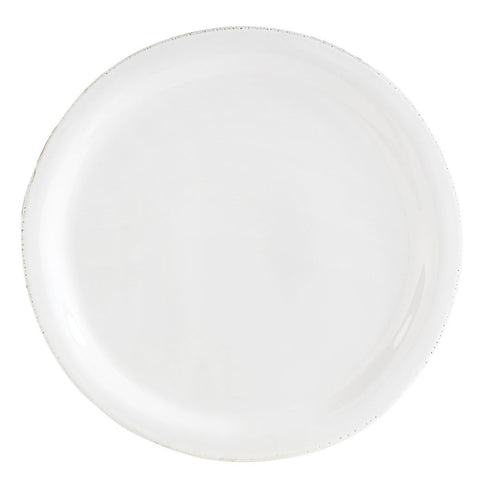 Bianco White Dinner Plate - Set of 4 , tableware - Vietri, Pezzo Bello  - 1