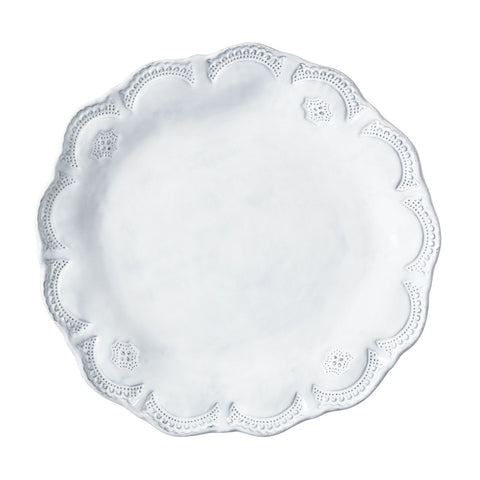 Incanto Lace Dinner Plate - Set of 4 , tableware - Vietri, Pezzo Bello  - 1