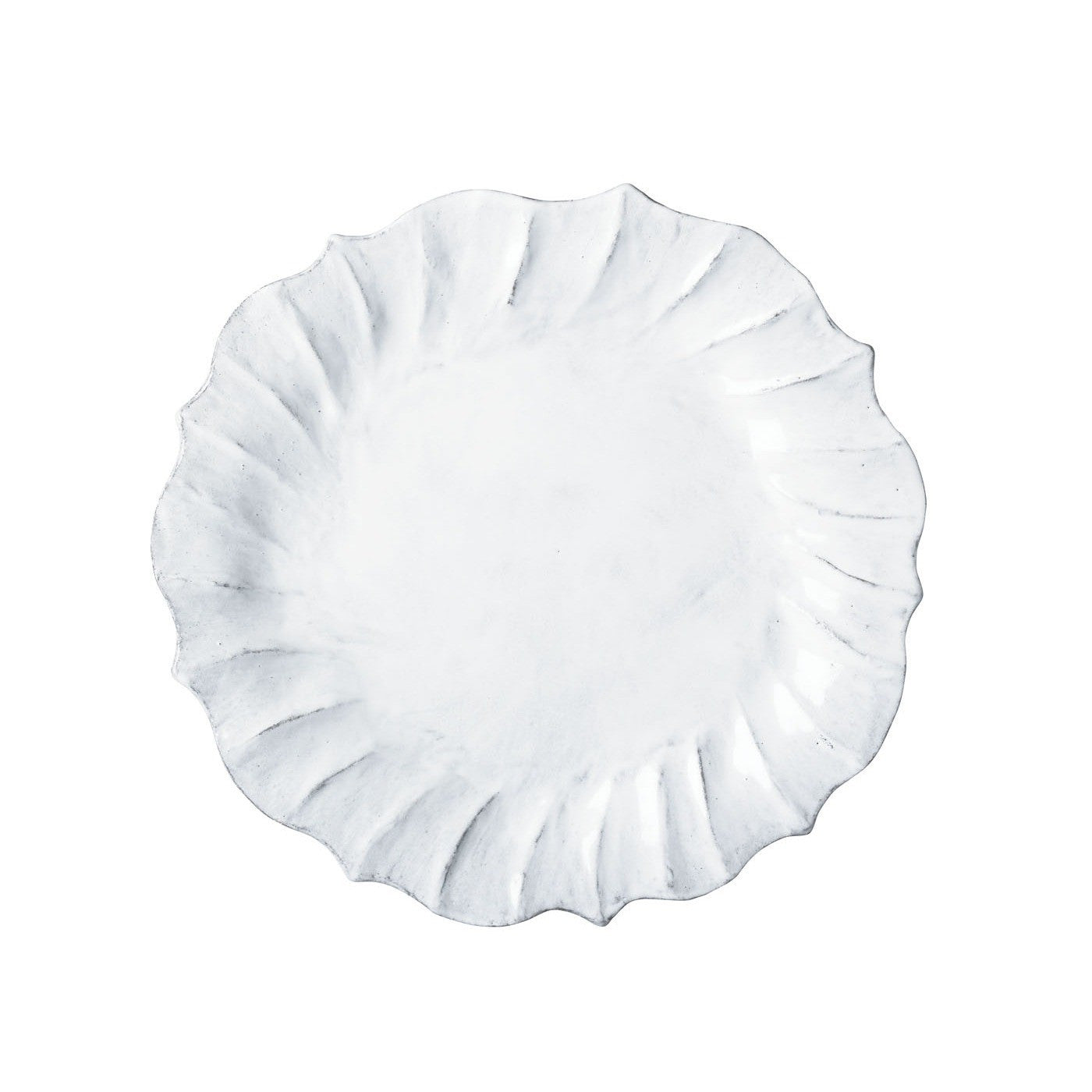 Incanto Ruffle Salad Plate - Set of 4 , tableware - Vietri, Pezzo Bello  - 1