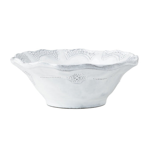Incanto Lace Cereal Bowl - Set of 4 , tableware - Vietri, Pezzo Bello  - 1