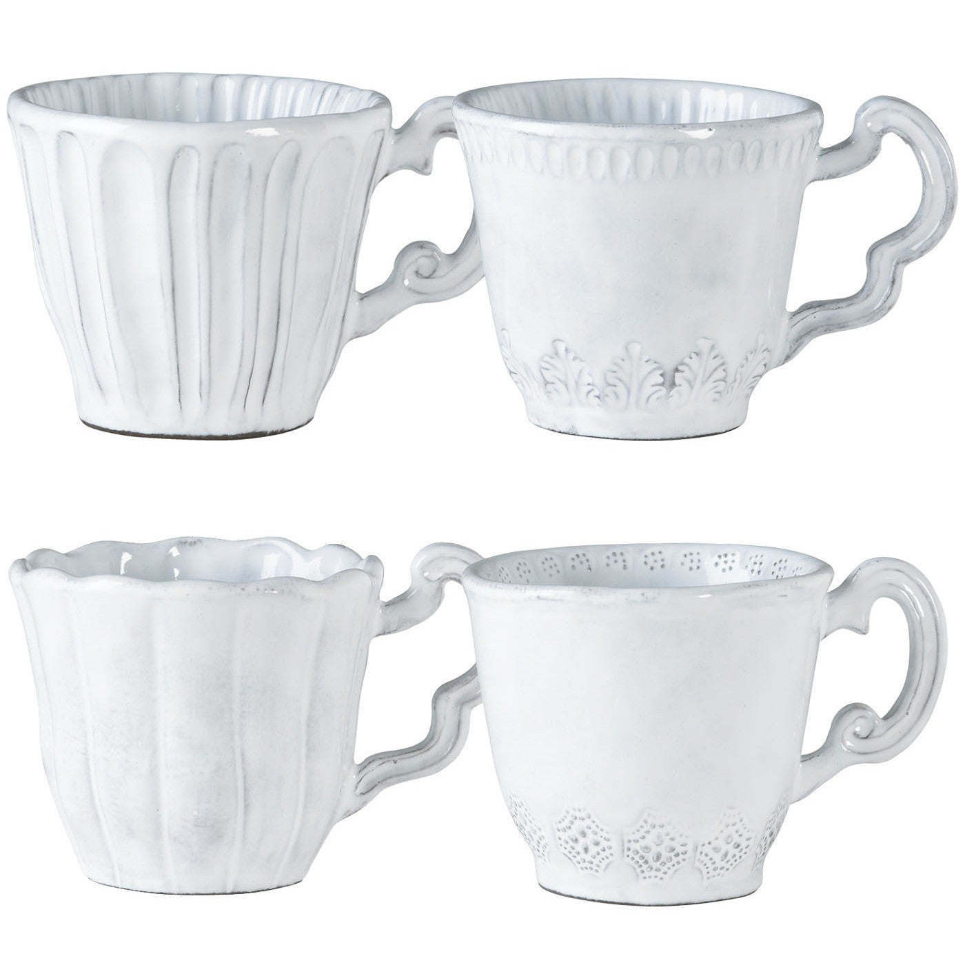 Incanto Assorted Mugs - Set of 4 Assorted Mugs , tableware - Vietri, Pezzo Bello  - 1