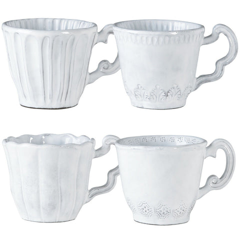 Incanto Assorted Mugs - Set of 4 Assorted Mugs