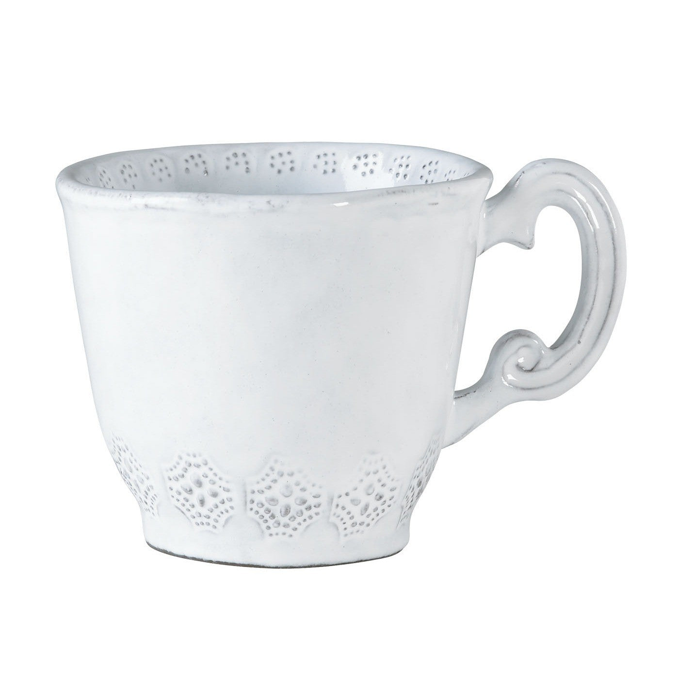 Incanto Lace Mug - Set of 4 , tableware - Vietri, Pezzo Bello  - 1