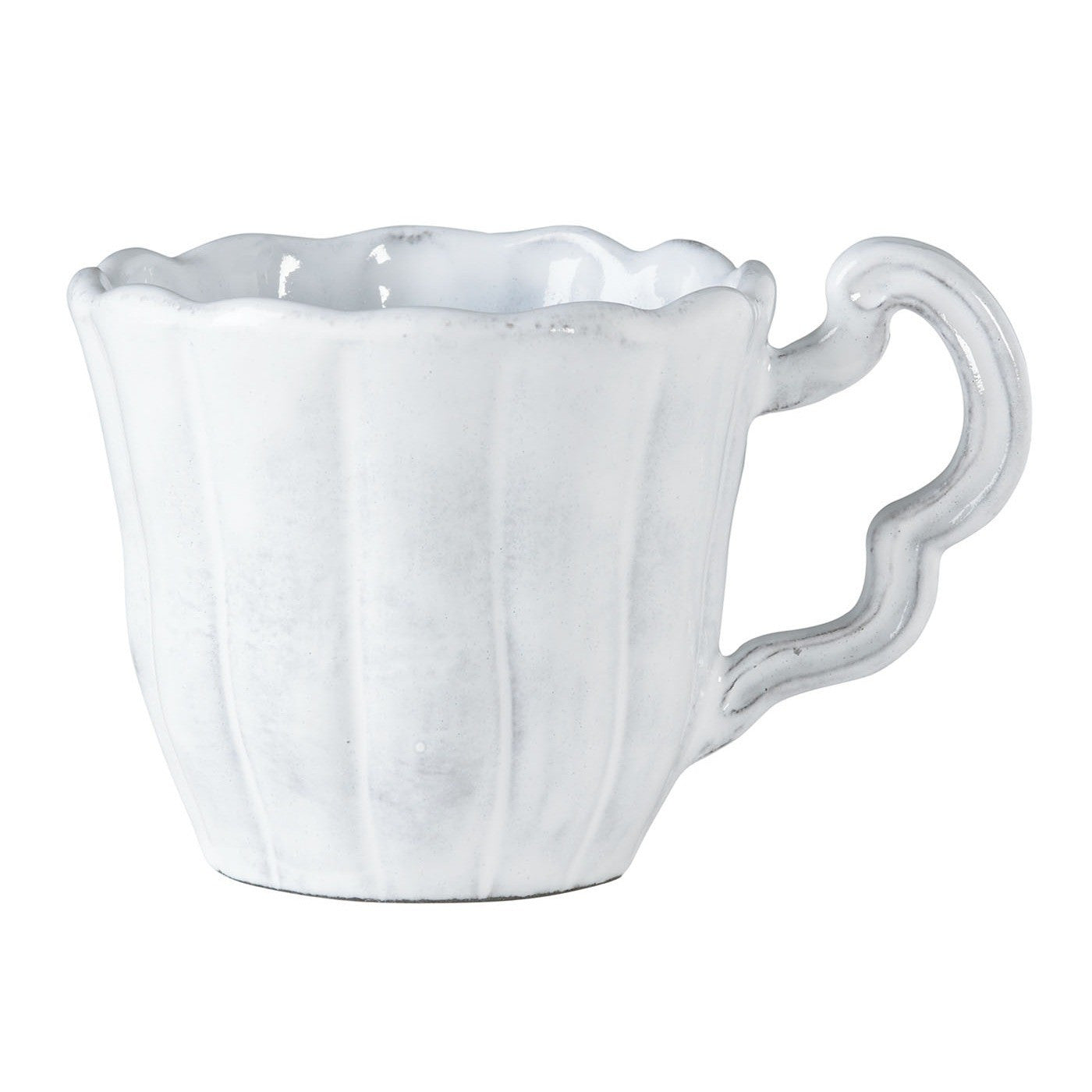 Incanto Scallop Mug - Set of 4 , tableware - Vietri, Pezzo Bello  - 1