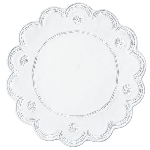 Incanto Lace Service Plate/Charger - Set of 4