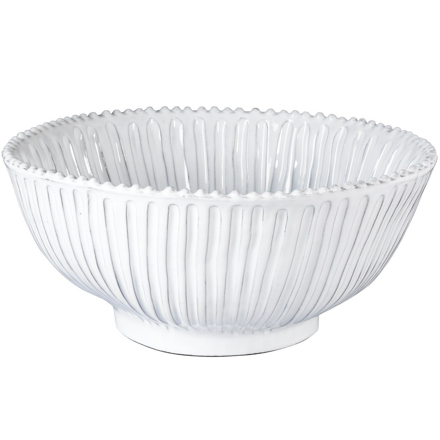 Incanto Stripe Large Serving Bowl , tableware - Vietri, Pezzo Bello
