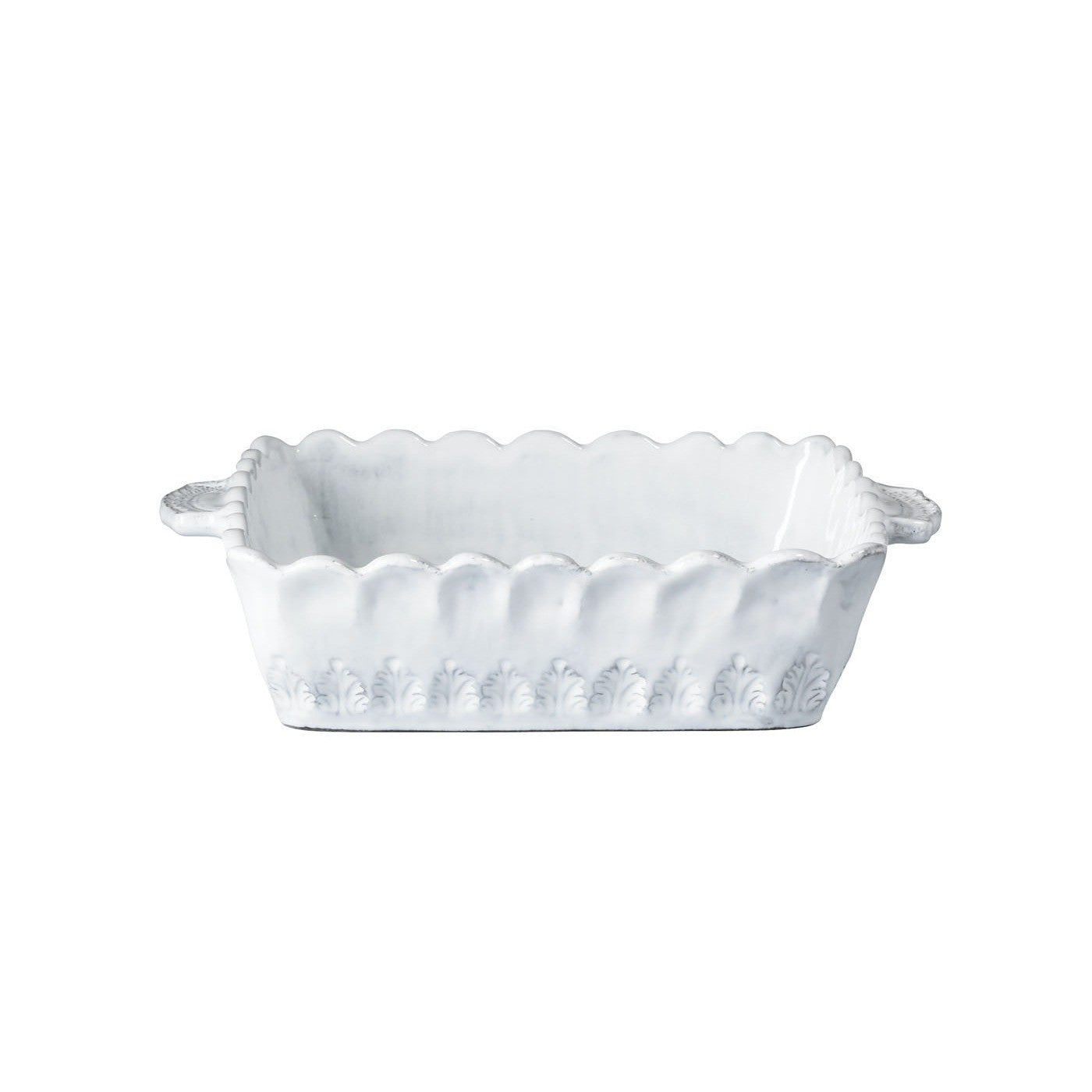 Incanto Lace Small Square Baking Dish , tableware - Vietri, Pezzo Bello