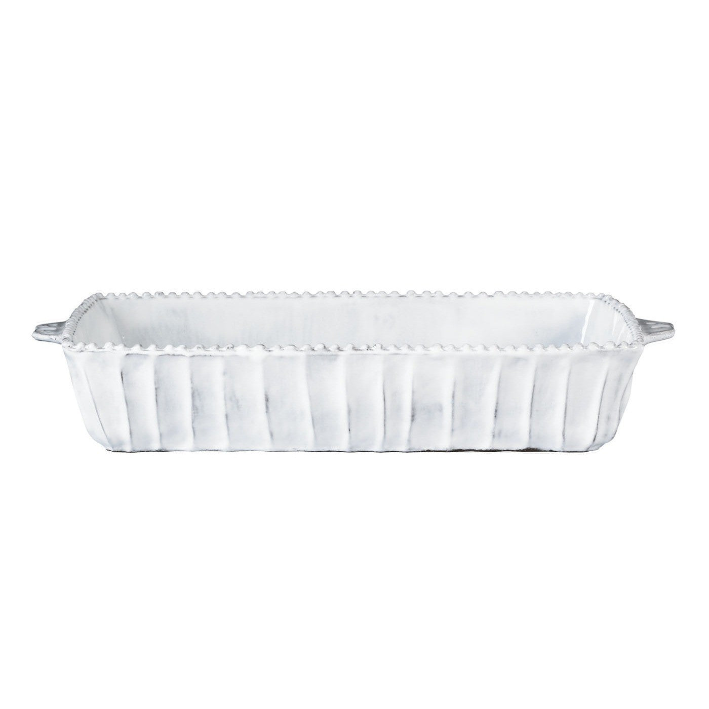 Incanto Stripe Medium Rectangular Baking Dish , tableware - Vietri, Pezzo Bello