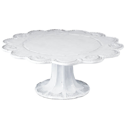 Incanto Lace Large Cake Stand , tableware - Vietri, Pezzo Bello  - 1