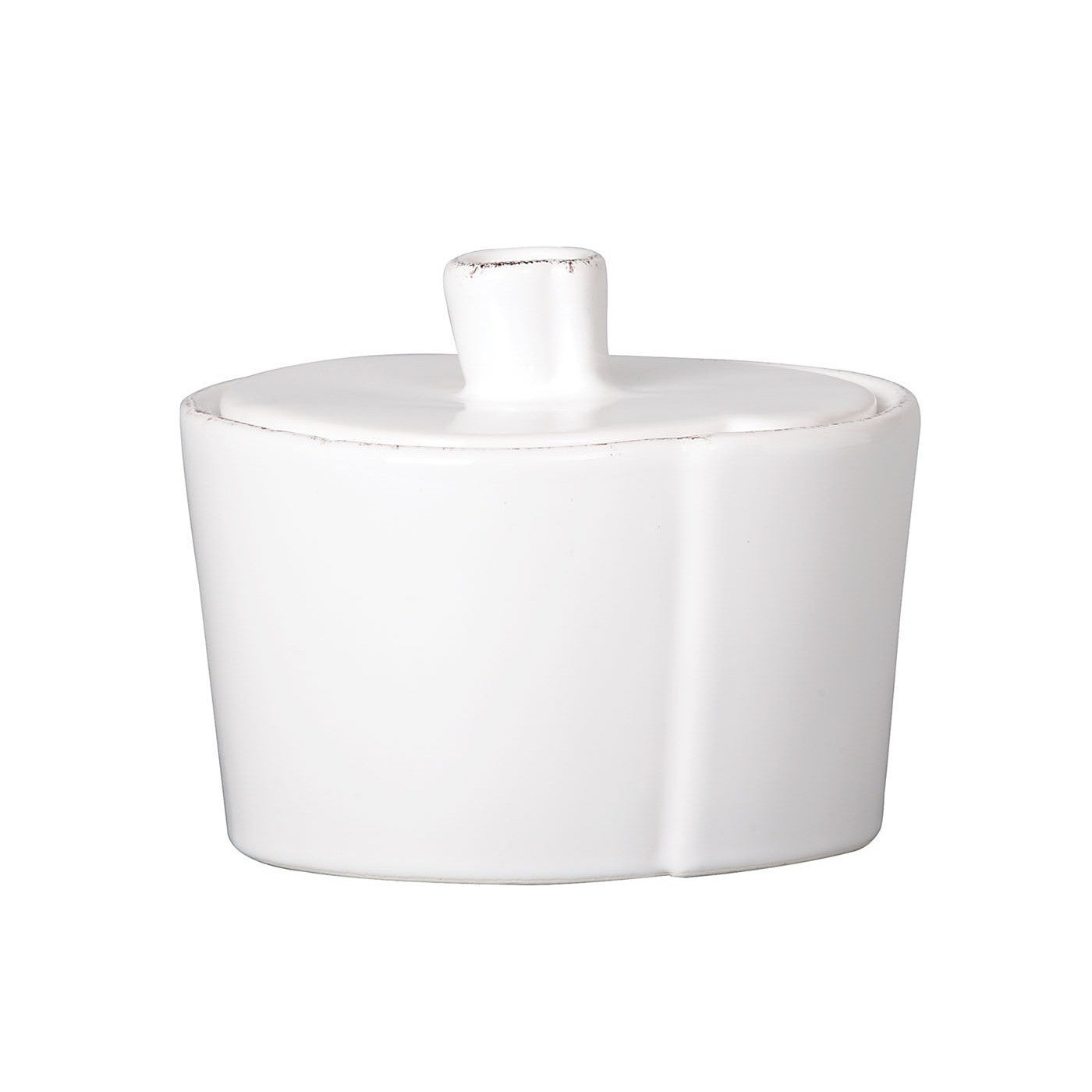 Lastra Sugar Bowl - Available in 3 Colors , tableware - Vietri, Pezzo Bello  - 2