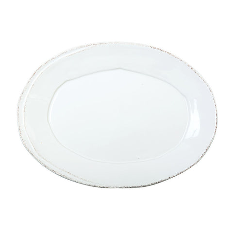 Lastra Small Oval Platter - Available in 3 Colors , tableware - Vietri, Pezzo Bello  - 2