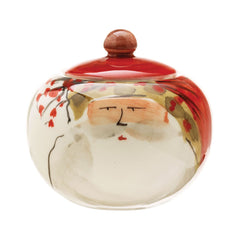 Old St. Nick Sugar Bowl , Christmas - Vietri, Pezzo Bello  - 1
