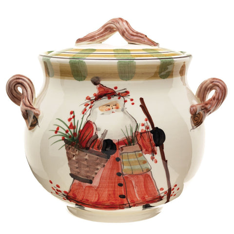 Old St. Nick Biscotti Jar