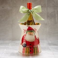 Old St. Nick Utensil Holder , Christmas - Vietri, Pezzo Bello  - 4