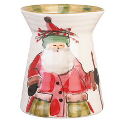 Old St. Nick Utensil Holder , Christmas - Vietri, Pezzo Bello  - 1