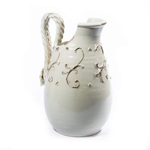 Terrazza Antique White Pitcher