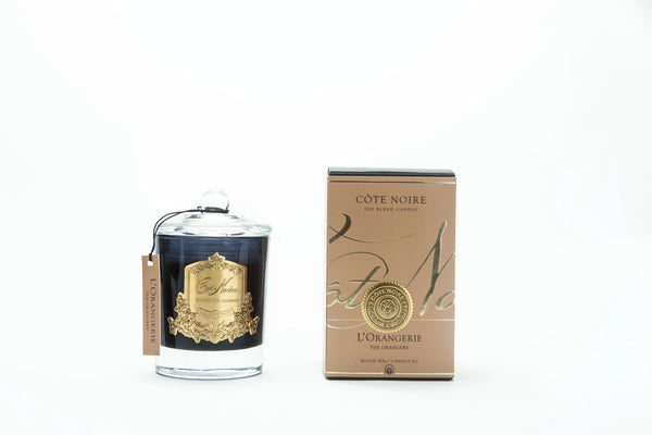 Cote Noire Gold Badge Candles - L'Orangerie Fragrance
