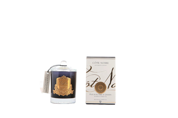 Cote Noire Gold Badge Candles - Jasmine Flower Tea Fragrance