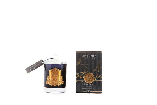 Cote Noire Gold Badge Candles - Private Club Fragrance