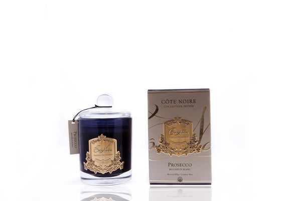 Cote Noire Gold Badge Candles - Prosecco Fragrance