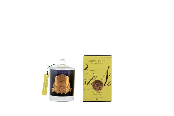 Cote Noire Gold Badge Candles - Summer Pear Fragrance