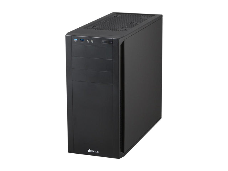 Corsair Carbide Series 200R Black Steel / Plastic Compact ATX Mid Tower Case