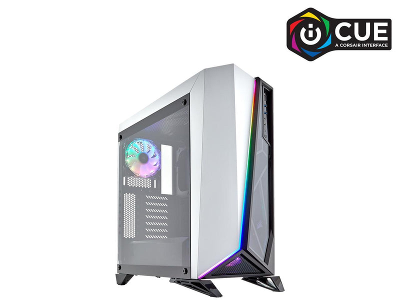 CORSAIR Carbide Series SPEC-OMEGA RGB Tempered Glass Mid-Tower ATX Gaming Case