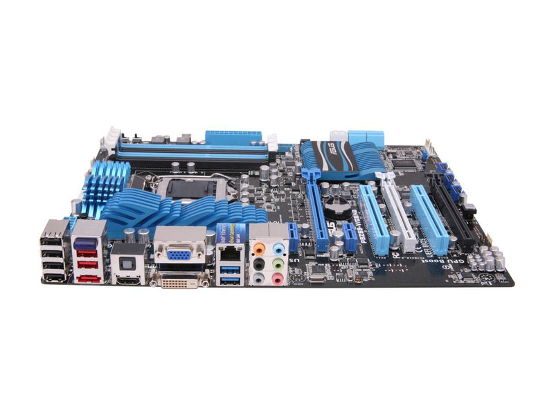 ASUS P8Z68-V/GEN3 LGA 1155 Intel Z68 HDMI SATA 6Gb/s USB 3.0 ATX Intel Motherboard with UEFI BIOS