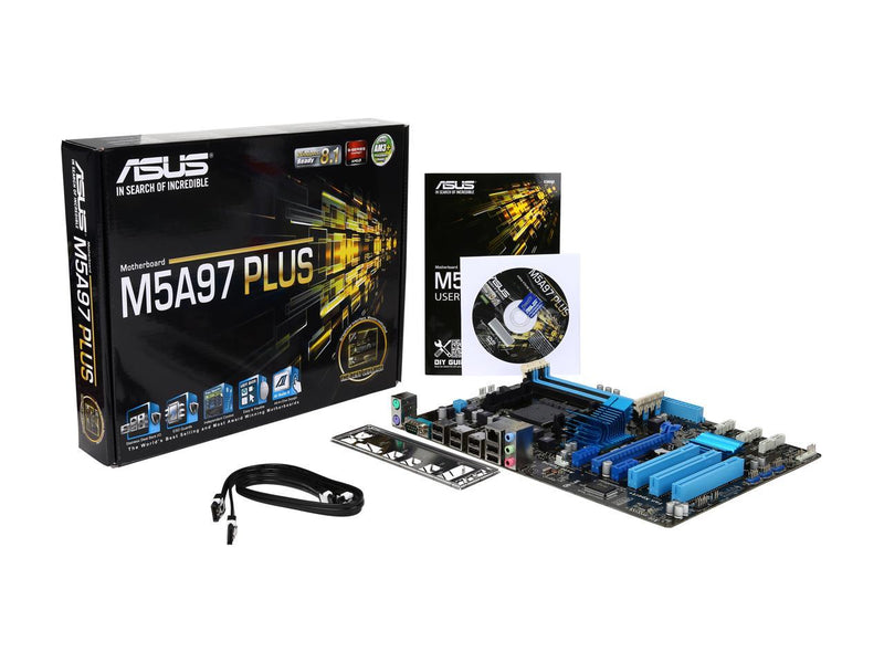ASUS M5A97 PLUS AM3+ AMD 970/SB950 SATA 6Gb/s ATX AMD Motherboard