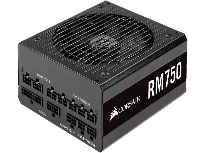 CORSAIR RM Series RM750 CP-9020195-NA 750W ATX12V v2.52 / EPS12V v2.92 SLI Ready CrossFire Ready 80 PLUS GOLD Certified Full Modular Power Supply