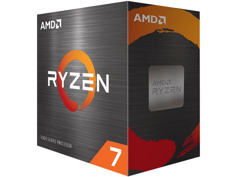 AMD Ryzen 7 5800X 8-Core 3.8 GHz Socket AM4 105W Desktop Processor 100-100000063WOF