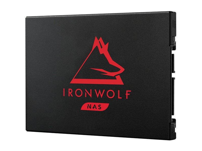 Seagate IronWolf 125 SSD 500GB NAS Internal Solid State Drive - 2.5 Inch SATA 6Gb/s Speeds of up to 560 MB/s, 0.7 DWPD Endurance and 24x7 Performance for Creative Pro and SMB/SME (ZA500NM1A002)