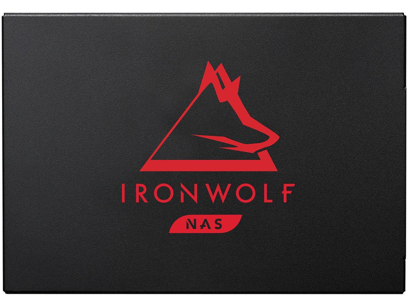 Seagate IronWolf 125 SSD 1TB NAS Internal Solid State Drive - 2.5 Inch SATA 6Gb/s Speeds of up to 560 MB/s, 0.7 DWPD Endurance and 24x7 Performance for Creative Pro and SMB/SME (ZA1000NM1A002)