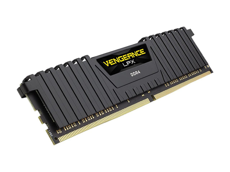 CORSAIR Vengeance LPX 16GB (4 x 4GB) 288-Pin DDR4 SDRAM DDR4 3000 (PC4 24000) Desktop Memory Model CMK16GX4M4C3000C16