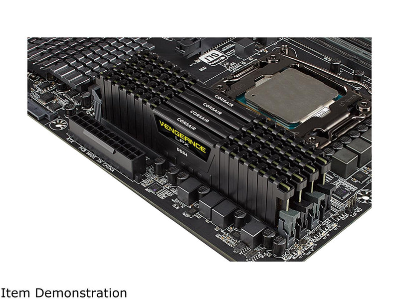 CORSAIR Vengeance LPX 128GB (4 x 32GB) 288-Pin DDR4 SDRAM DDR4 3600 (PC4 28800) Desktop Memory Model CMK128GX4M4D3600C18