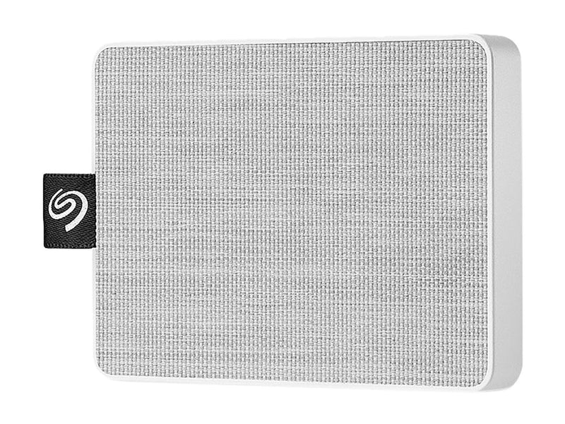 Seagate One Touch SSD 1TB USB 3.0 External / Portable Solid State Drive for PC Laptop and Mac - White (STJE1000402)