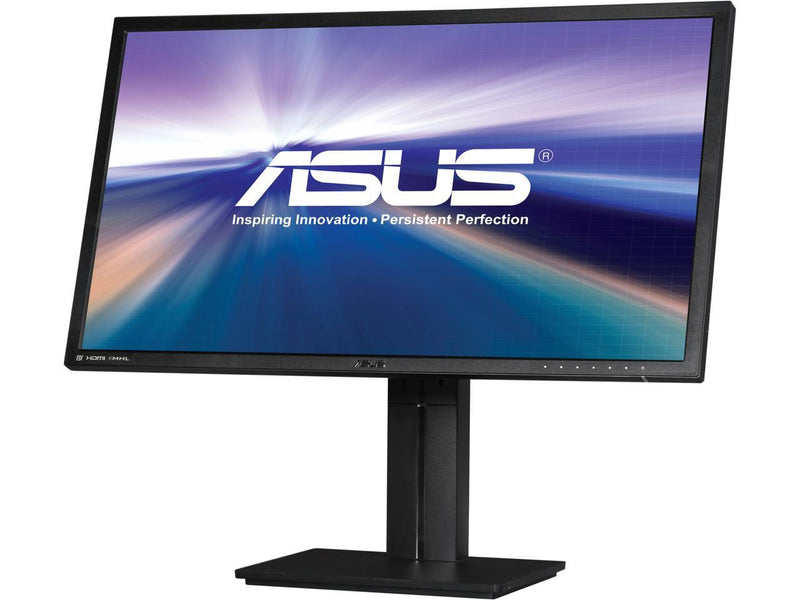 "ASUS PB287Q 28"" UHD 3840 x 2160 (4K) 1ms (GTG) 60 Hz HDMI/MHL, DisplayPort Built-in Speakers 10-bit Color Monitor"