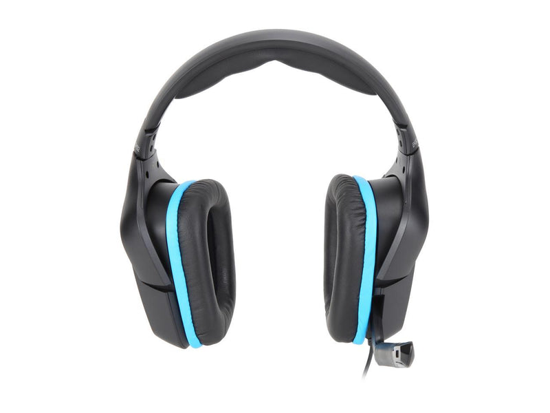 Logitech G432 Wired PC Gaming Headset 3.5mm/ USB Connector Circumaural 7.1 Surround Sound 981-000769