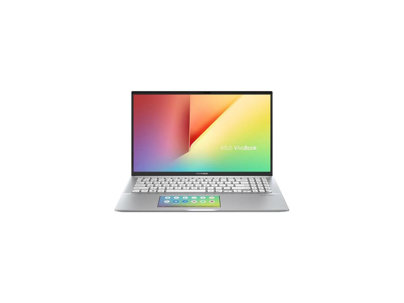 "ASUS VivoBook S15 S532 Thin & Light Laptop, 15.6"" FHD, Intel Core i5-10210U CPU, 8 GB DDR4 RAM, 512 GB PCIe SSD, Windows 10 Home, IR camera, S532FA-DH55, Transparent Silver - Metal"