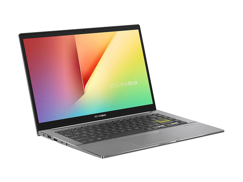 "ASUS VivoBook S14 S433 Thin and Light 14"" FHD, Intel Core i5-10210U CPU, 8 GB DDR4 RAM, 512 GB PCIe SSD, Windows 10 Home, S433FA-DS51, Indie Black"