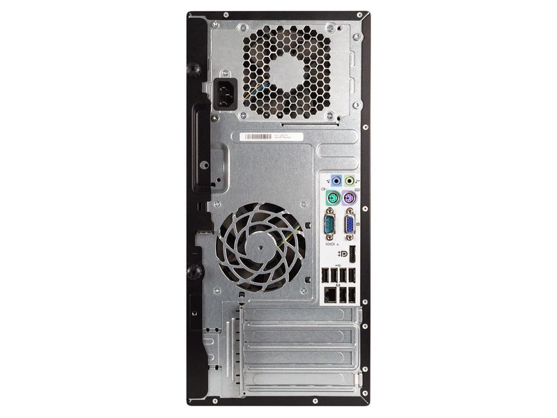HP Compaq 6200 Pro Tower Intel Core i5 2400 3.10 GHz, 12 GB DDR3, Brand New 240 GB SSD, DVD, WiFi, BT 4.0, Windows 10 Pro 64-bit